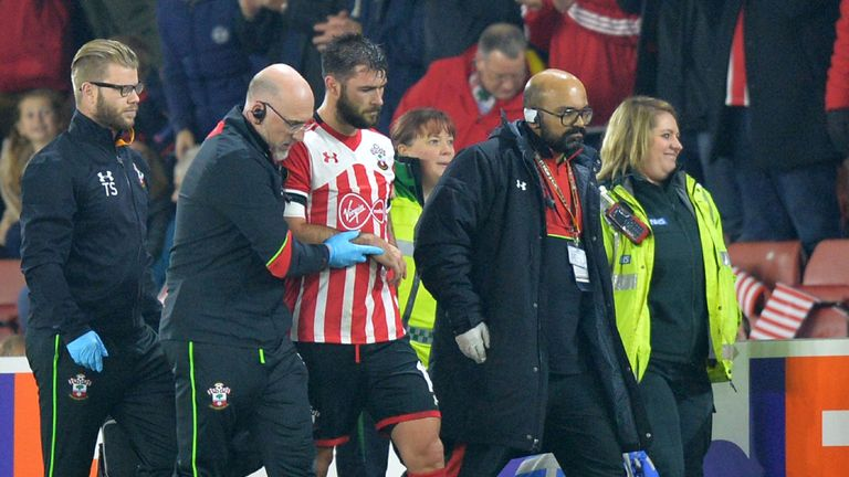Southampton's Charlie Austin is out for three to four months with a shoulder injury