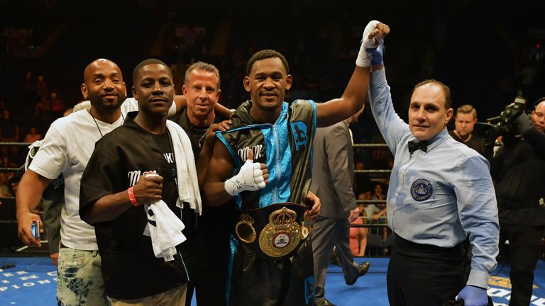 Jacobs has made four defences of the WBA title
