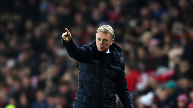 David Moyes was pleased with the effort on show from Sunderland against Chelsea