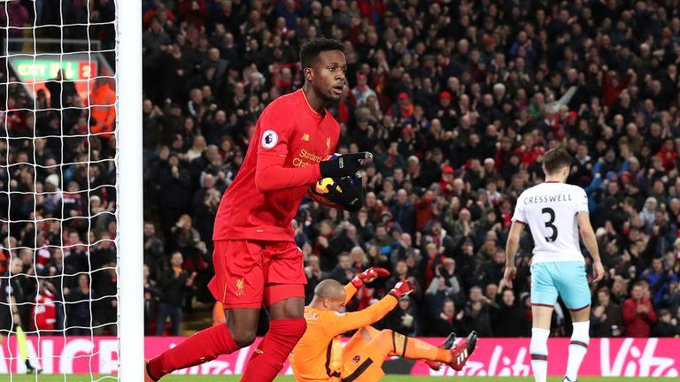 Divock Origi scored Liverpool's second goal