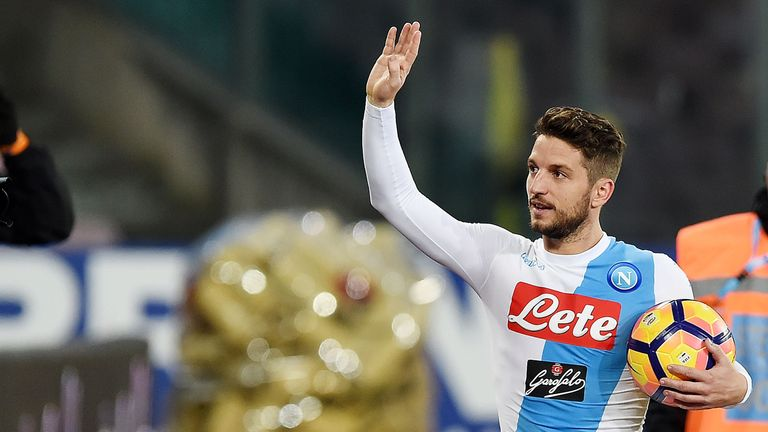 Dries Mertens will be fit for Napoli