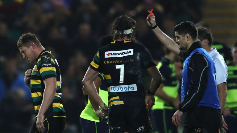 Dylan Hartley's latest red card means he has amassed 60 weeks of suspensions
