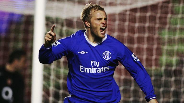 Eidur Gudjohnsen spent six years at Chelsea between 2000 and 2006
