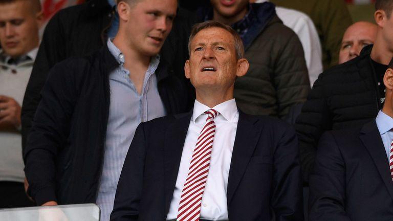 SUNDERLAND, ENGLAND - AUGUST 21:  Sunderland owner Ellis Short looks on before the Premier League match between Sunderland and Middlesbrough at Stadium of