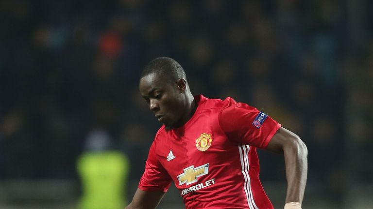 Eric Bailly made his first appearance for Manchester United since October