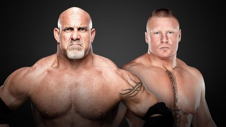 Goldberg and Brock Lesnar are in the Royal Rumble
