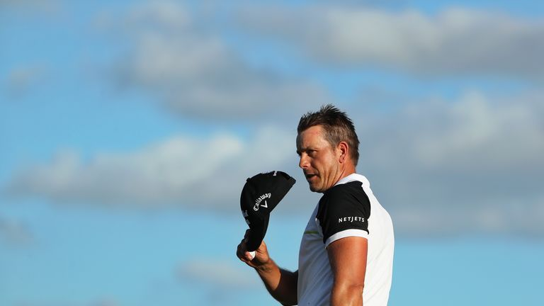 Stenson registered two wins during 2016