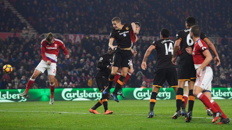 Gaston Ramirez scored the only goal of the game on Monday evening