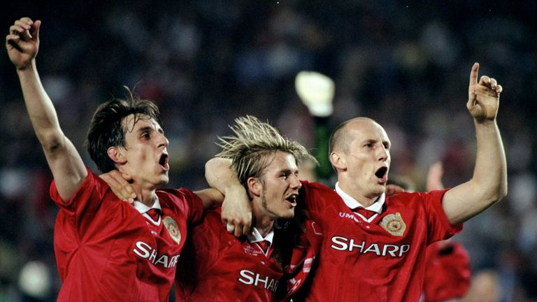 Stam won the Champions League with Manchester United in 1999