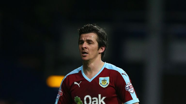 Joey Barton in action for Burnley
