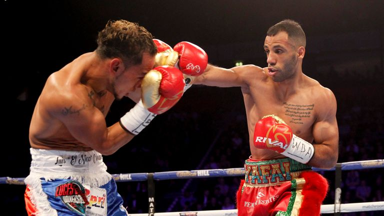 Kal yafai becomes Birmingham's first world champion after defeating Luis Concepcion