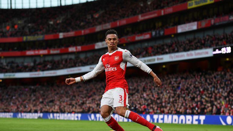 Kieran Gibbs made just eight starts for Arsenal last season