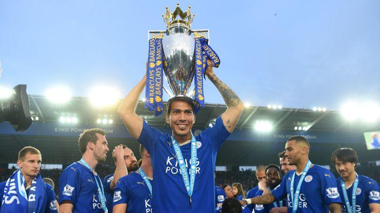 Ulloa was apart of Leicester's historic Premier League title victory last season