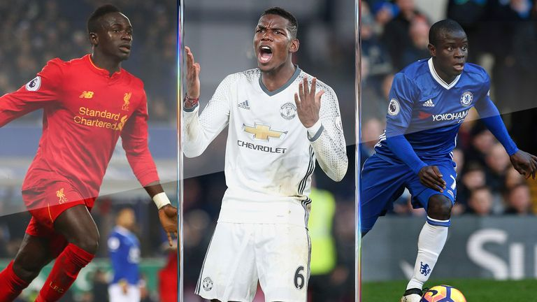 Sadio Mane, Paul Pogba and N'Golo Kante have been successful summer signings