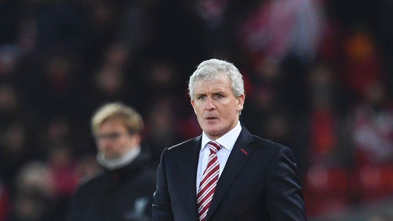 Mark Hughes has previously shown interest in the striker and Stoke had a bid rejected in the summer