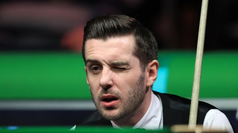 Mark Selby suffered a shock exit at the York Barbican