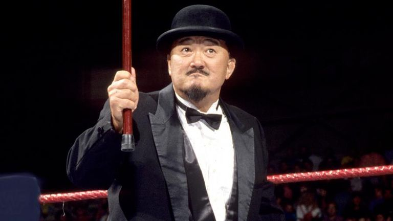 The late, great Mr Fuji used to manage Ax and Smash
