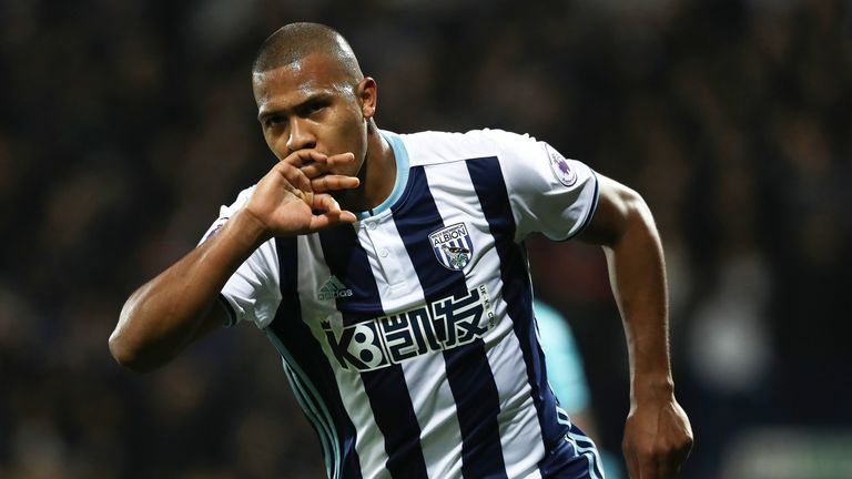 31117335c4d3 West Bromwich Albion forward Salomon Rondon attracted interest from China  during the January transfer window