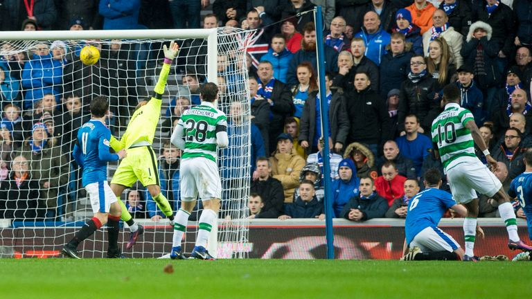 Moussa Dembele lashes home Celtic's equaliser