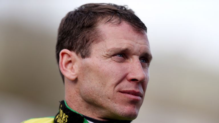 Richard Johnson: Back with winner at Ludlow