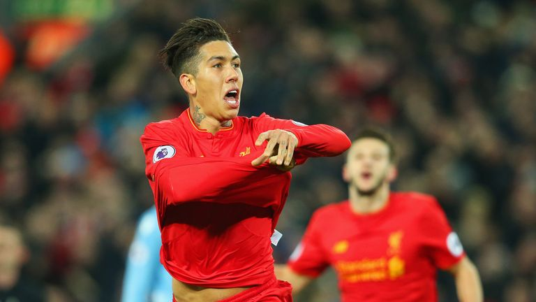 Roberto Firmino has been in fine form for Liverpool this season