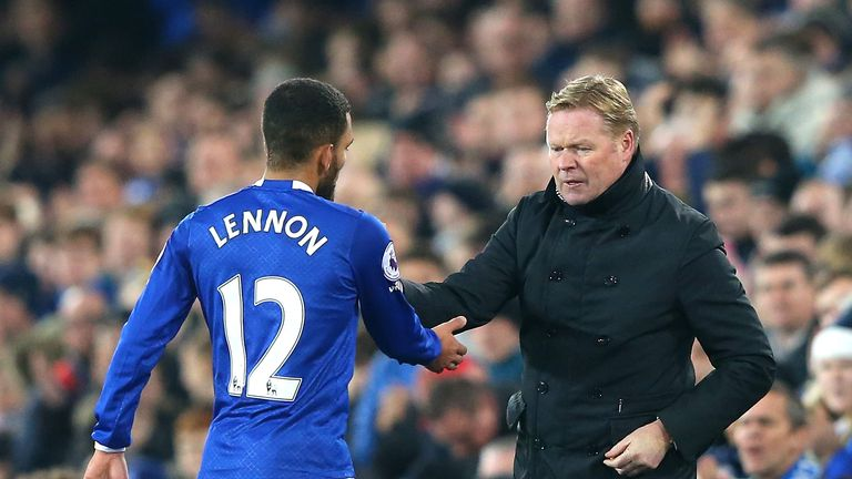 Ronald Koeman was pleased with his side's response