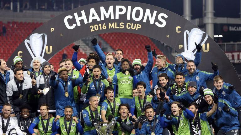 Seattle Sounders beat FC Toronto on penalties in last season's MLS Cup final, and meet again in the final on Saturday