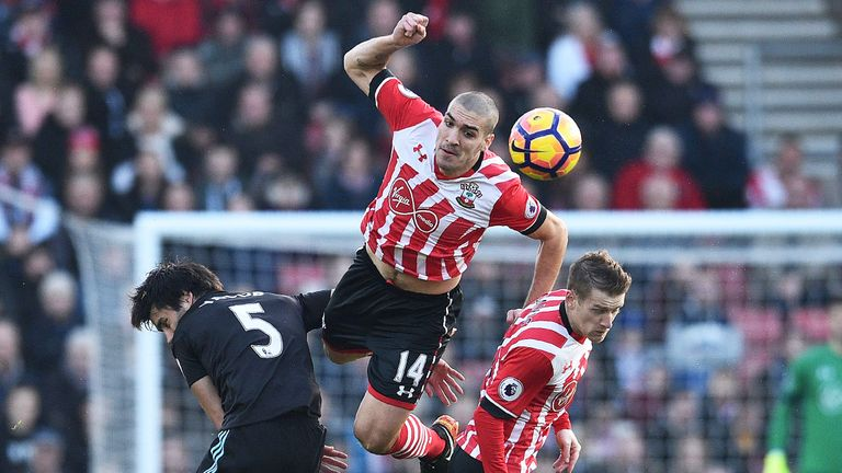 Oriol Romeu has impressed in front of the Saints backline