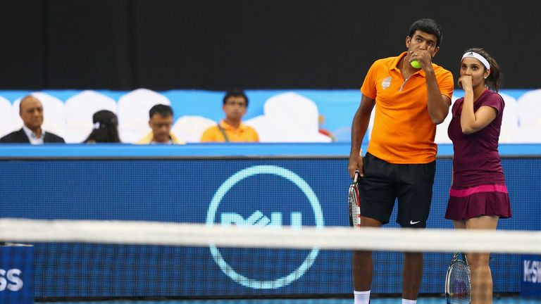 Sania Mirza and Rohan Bopanna help Indian Aces to victory in