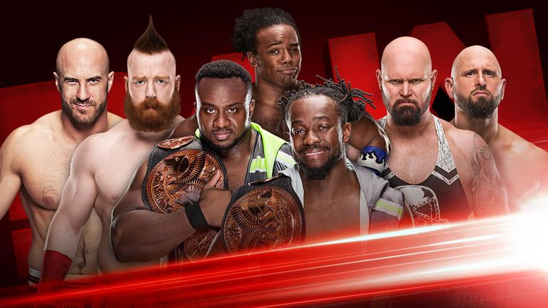 WWE Raw preview: The New Day on verge of breaking Tag Title