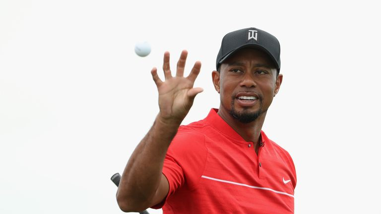 Tiger Woods exceeded expectations in his first competitive event since August 2015
