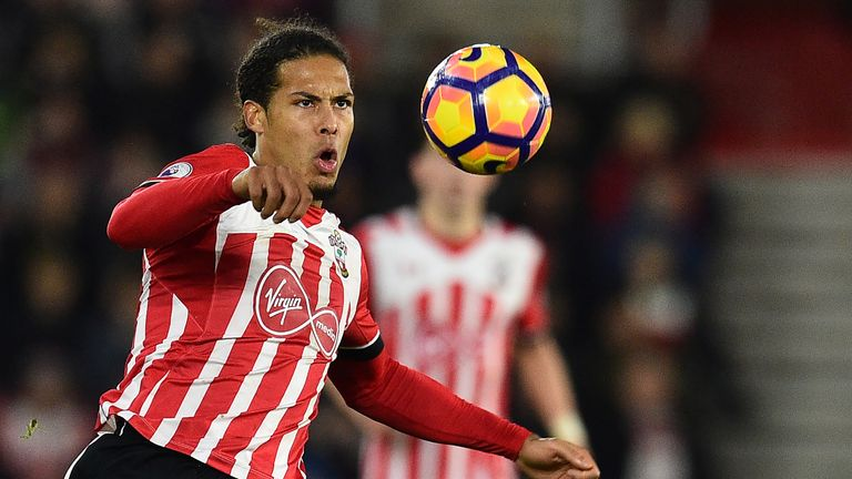 Virgil van Dijk is the Premier League's best centre-back, according to Jamie Redknapp