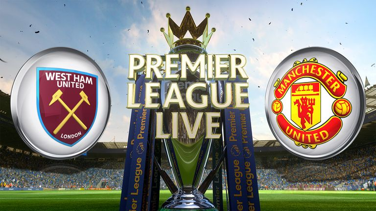 West Ham United v Manchester United - Premier League Live