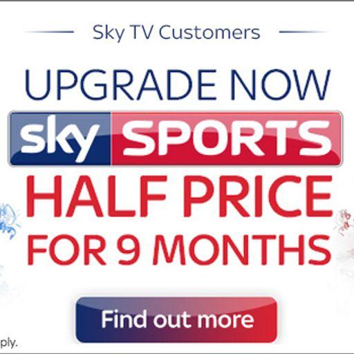 Half price Sky Sports