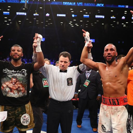 DeGale calls for rematch