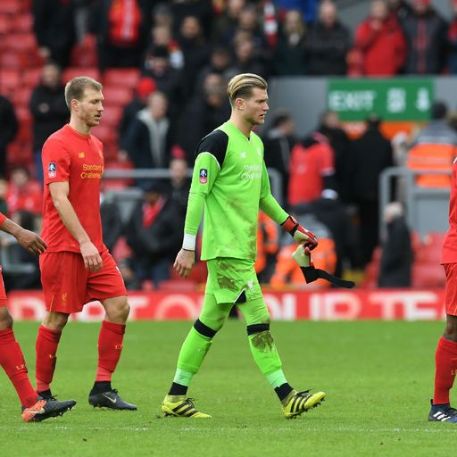 Liverpool near unwanted record