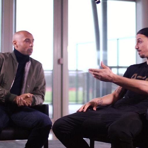 When Henry met Zlatan