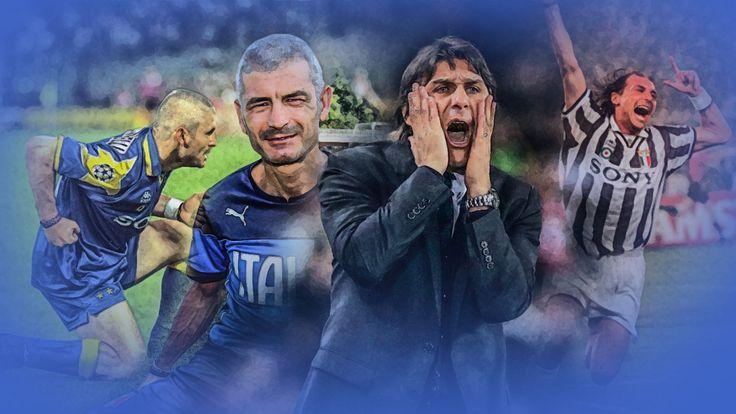 Former Juventus duo Fabrizio Ravanelli and Antonio Conte are good friends