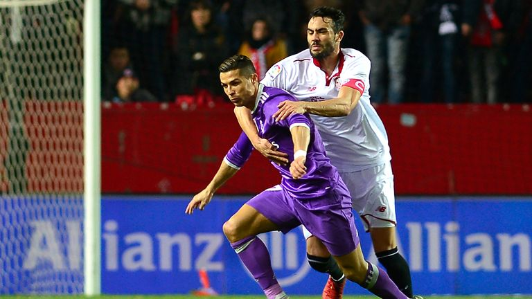 Sevilla 2 1 R Madrid Match Report Highlights