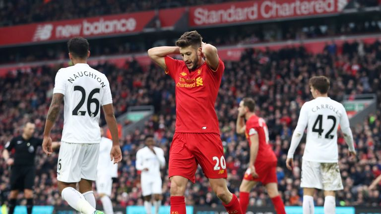 Liverpool are now 10 points behind Premier League leaders Chelsea