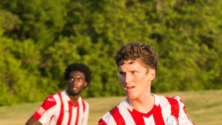 Adam McCabe has fallen back in love with football in the US, having found the environment in England difficult