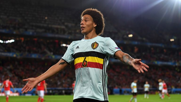 Axel Witsel has agreed a deal to join Tianjin Quanjian