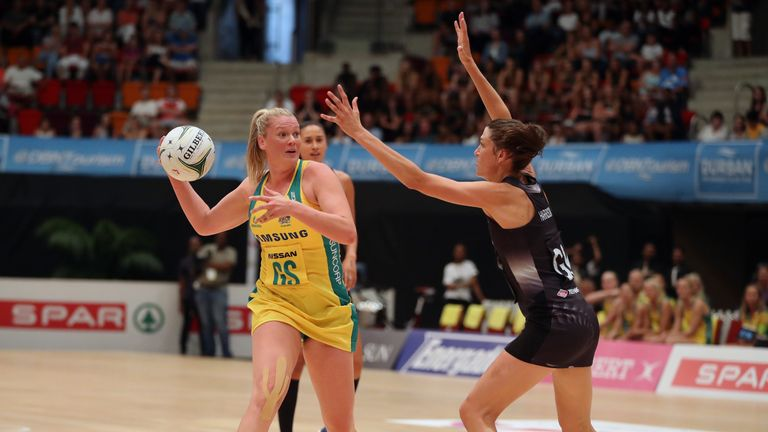 Caitlin Thwaites impressed as Australia beat New Zealand in the Quad Series opener