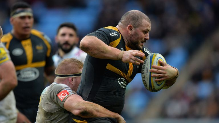 Carlo Festuccia is on his way back to Wasps