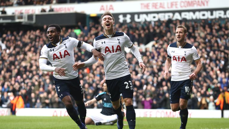 Tottenham made it six wins in a row with a 4-0 victory over West Brom