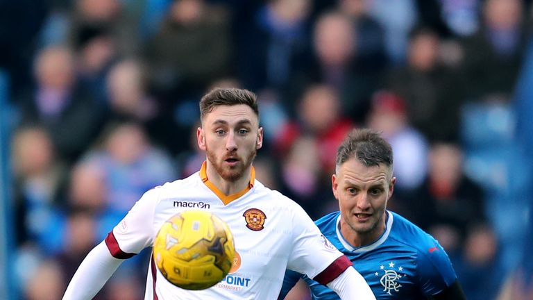 Moult hopes to be involved in the Betfred Cup group stages