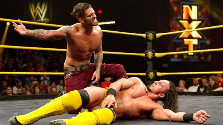 Corey Graves turned on Neville in NXT