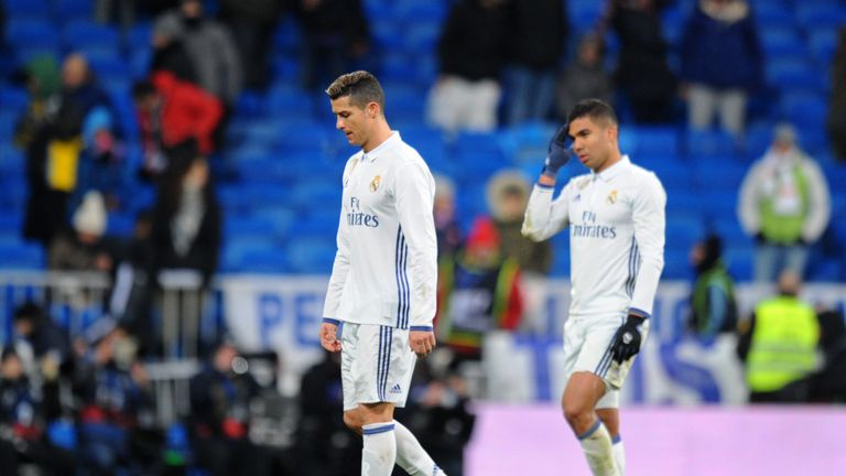 Woe for Cristiano Ronaldo and Real Madrid