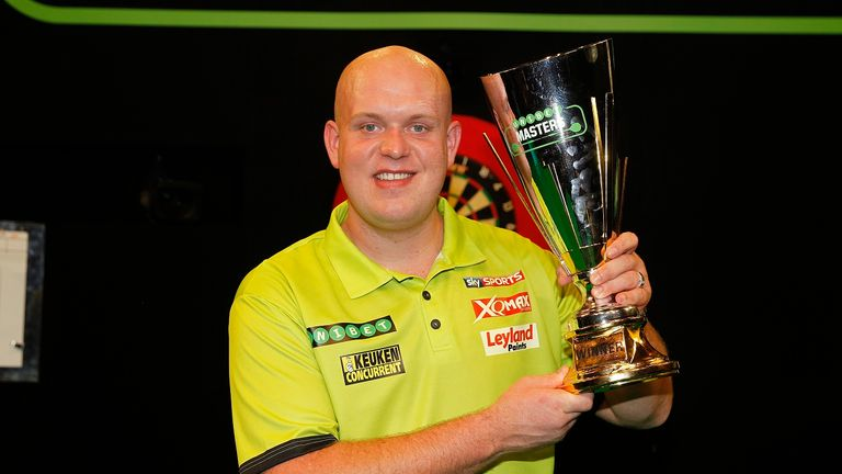 Michael van Gerwen will be targeting a fourth successive Masters title