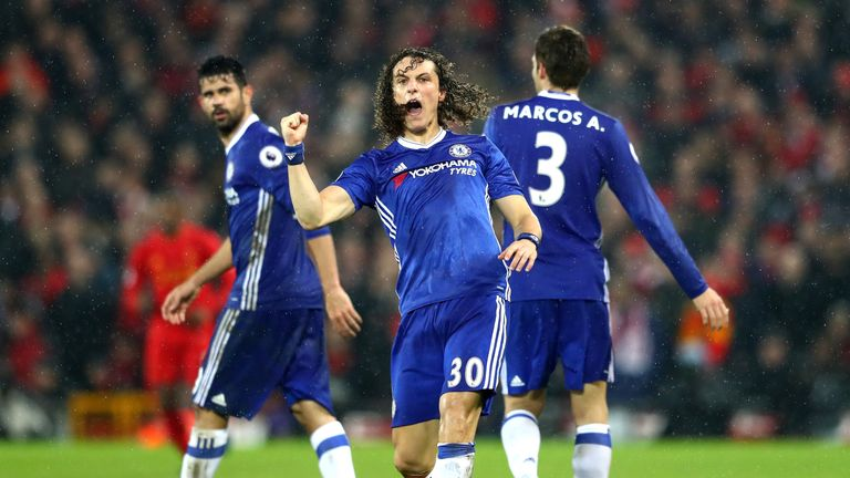 Chelsea remain nine points clear at the top of the Premier League following their draw at Liverpool